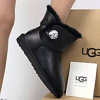 Угги женские UggiAustralia Classic Mini Boots серый, фото 1