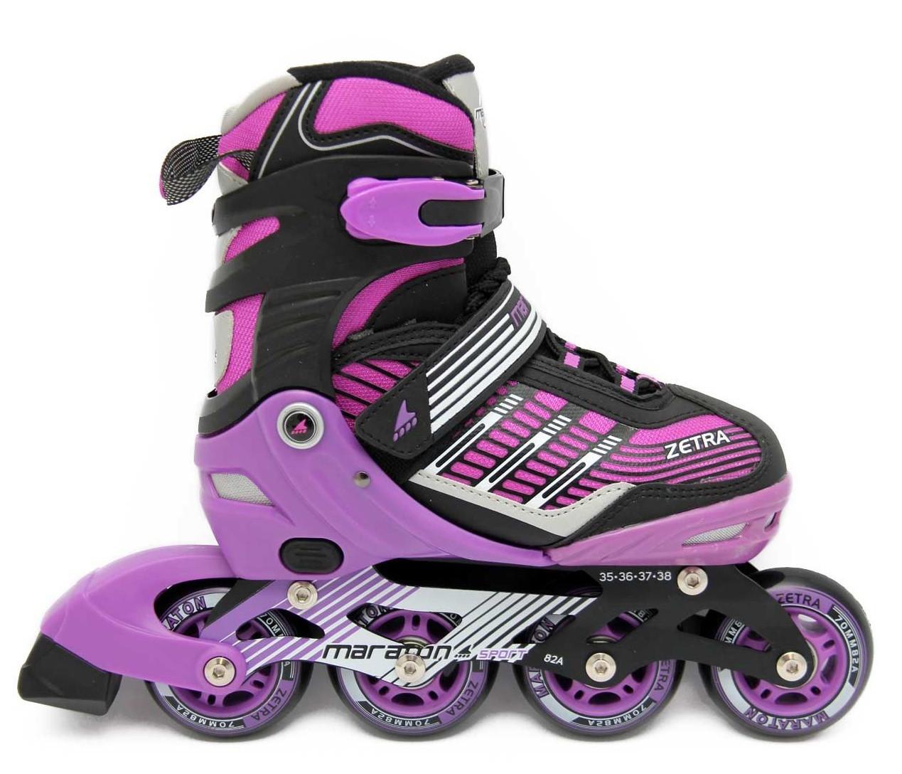 Ролики Maraton Zetra (39-42) фиолетовый