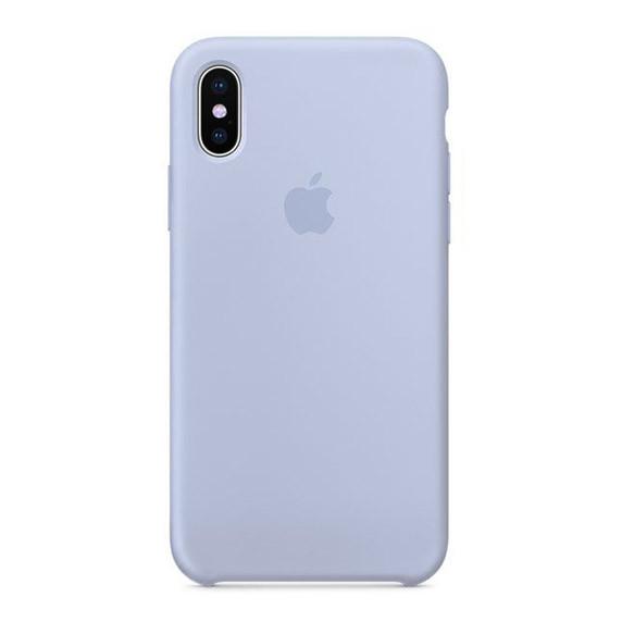 Чехол Silicone Case для iPhone X (Xs) Lilac