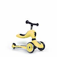 Самокат Scoot and Ride Highwaykick-1 lemon желтый, фото 1