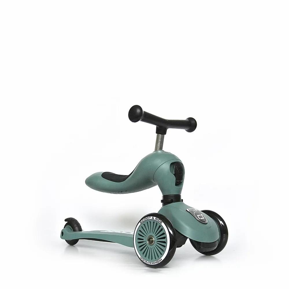 Самокат Scoot and Ride Highwaykick-1 forest зеленый