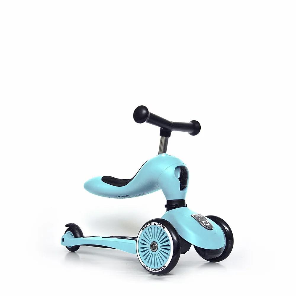 Самокат Scoot and Ride Highwaykick-1 blueberry голубой