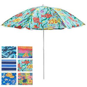 Зонт пляжный с наклоном Stenson MH-0035 1,8 м