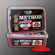 Метод пелети Method Pellets Strawberries (Полуниця) 600g 2mm