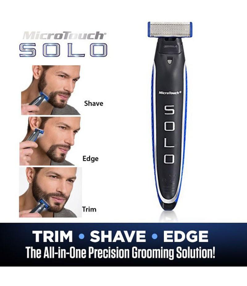 Мужская универсальная бритва-триммер для стрижки бороды |  MicroTouch SOLO (Реплика)