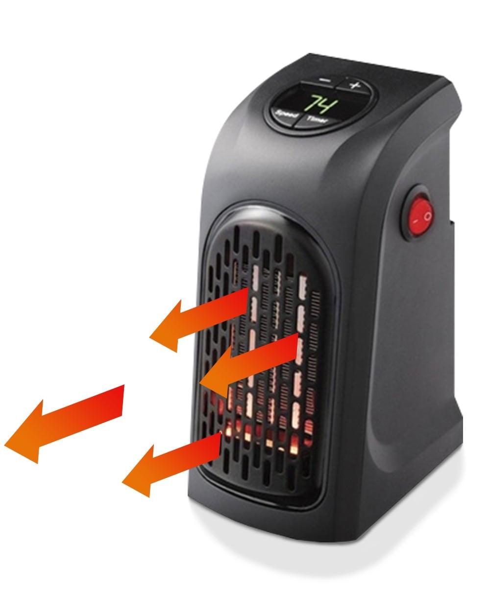 Экономный электрообогреватель для дома Handy Heater 400W | Тепловентилятор | Дуйка Хенди хитер (Реплика)