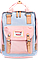 Женский городской рюкзак Doughnut Macaroon серый Код 11-0061, фото 3