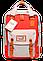 Женский городской рюкзак Doughnut Macaroon серый Код 11-0061, фото 4