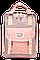Женский городской рюкзак Doughnut Macaroon серый Код 11-0061, фото 5