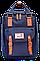 Женский городской рюкзак Doughnut Macaroon серый Код 11-0061, фото 8