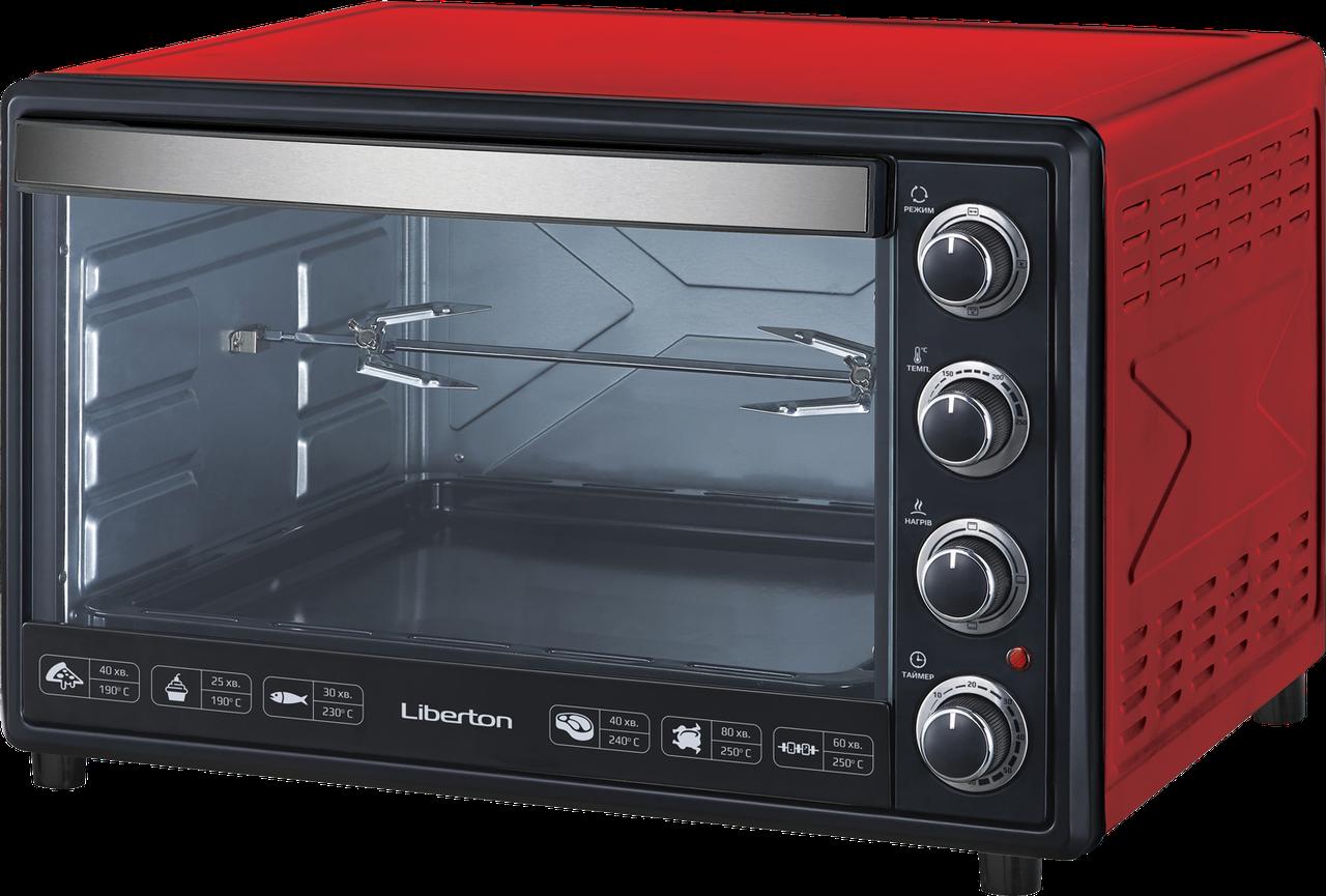 Электродуховка LIBERTON LEO-650-Red
