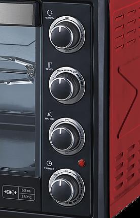 Электродуховка LIBERTON LEO-650-Red, фото 2