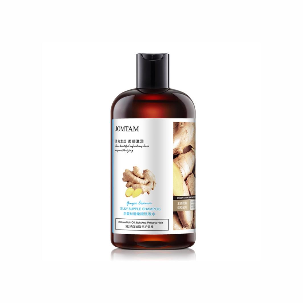 Поживний шампунь для волосся з імбиром Jomtam Silky Shampoo