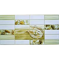Пластиковая Декоративная Панель ПВХ плитка ЖЕМЧУЖИНА (955X480) мм