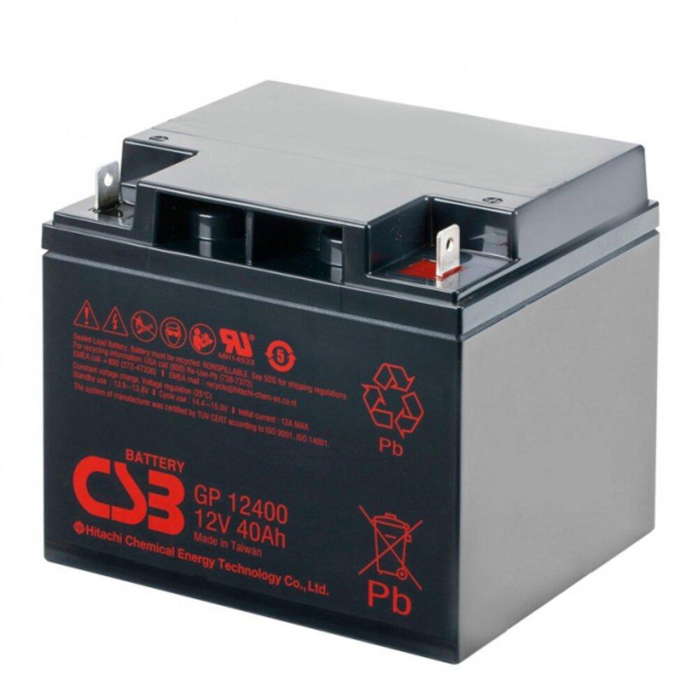 Аккумуляторная батарея AGM CSB GP12400 12V 40Ah