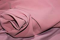 Чайная роза. Ткань креп костюмка барби однотонная №309