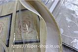 Скатерть из клеенки на прямоугольный стол Тee Time Tableglothe  140x110 см не скользящая плотная, фото 3