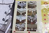 Скатерть из клеенки на прямоугольный стол Тee Time Tableglothe  140x110 см не скользящая плотная, фото 2