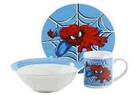 """Детский набор посуды """"Спайдермен"""" ТО-6"""