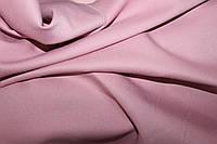 Пудра. Ткань креп костюмка барби однотонная №309
