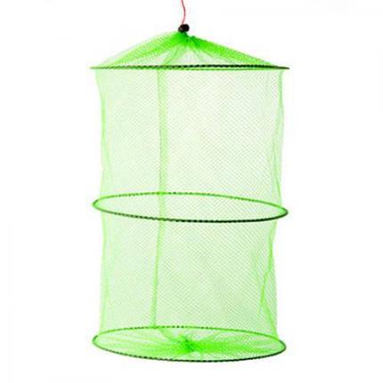 Садок сетка для рыбы 3 кольца 30 см Stenson WSI-51143 10 шт/уп, фото 2