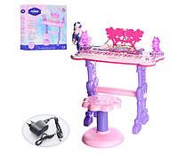 Детский синтезатор Bambi 6618 Pink KK