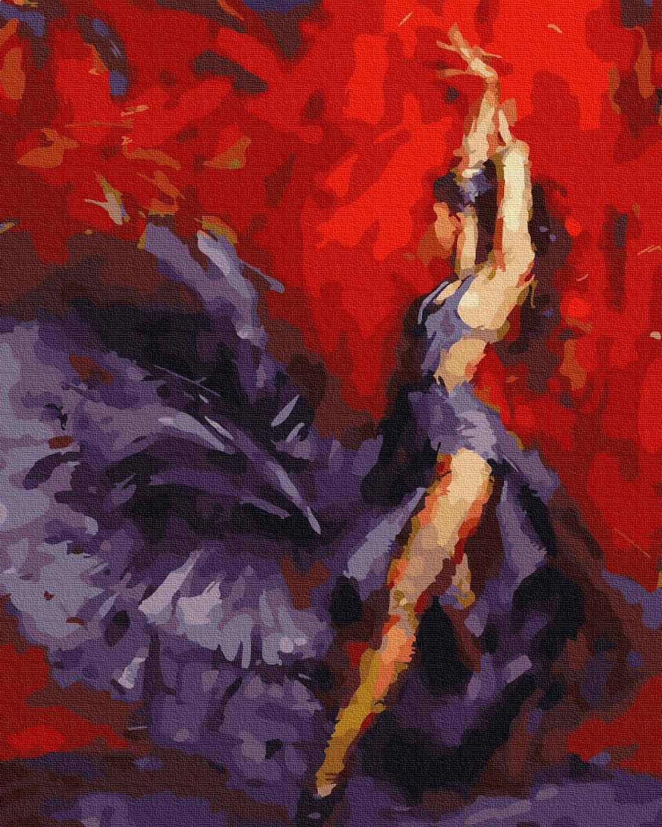 Картина по номерам Фламенко GX35685 Rainbow Art 40 х 50 см (без коробки)