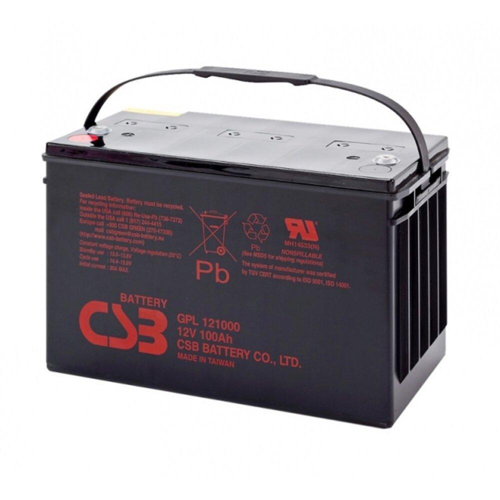 Аккумуляторная батарея AGM CSB GPL121000 12V 100Ah
