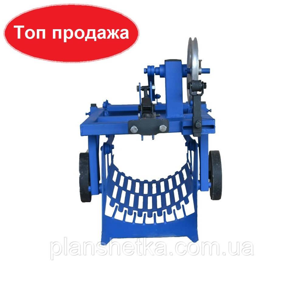 Картоплекопач для мотоблока водянок і мототрактора КМ-2 під ремінь