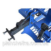 Картоплекопач для мотоблока водянок і мототрактора КМ-2 під ремінь, фото 2