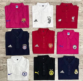 Футбольные футболки поло, тренировочные футболки