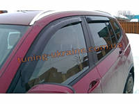 Дефлекторы окон (ветровики) EGR на BMW X3  (F25) 2010-14, фото 1