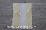 Скатерть из клеенки с кружевом 140x110 см, фото 3