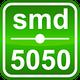 Светодиодный модуль, 0,72W белый (White) SMD5050 LED (3 LED) IP65 M133AA (w) 6550-6905, фото 4