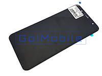 Дисплей + сенсор (модуль) Samsung J810F Galaxy J8 2018 черный OLED high copy