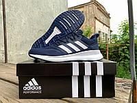 Мужские кроссовки Adidas Runfalcon Blue синие