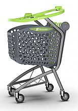 Купівельна візок пластикова Rabtrolley TWINST Basket 86 л