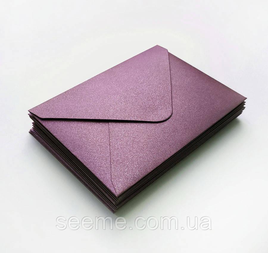 Конверт 205x140 мм, цвет сливовый (plum)