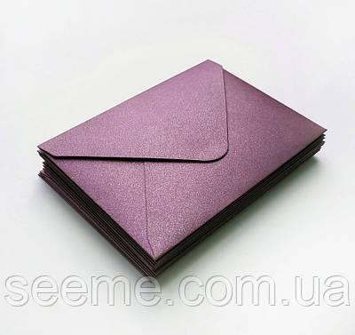 Конверт 205x140 мм, колір слива (plum)
