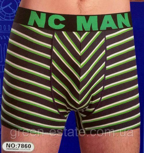 Трусы мужские NC-MAN с широкой резинкой, 7860N, размер L-3XL