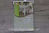 Скатерть овальная из клеенки Тee Time 152x122 см на силиконовой основе антискользящяя с кружевом, фото 4