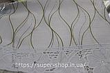 Скатерть овальная из клеенки Тee Time 152x122 см на силиконовой основе антискользящяя с кружевом, фото 2
