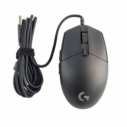 Мышь Logitech G Pro Gaming Mouse for FPS Wired Black Витрина, фото 2
