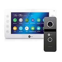 Комплект відеодомофона NeoLight KAPPA+ HD і NeoLight Solo FHD