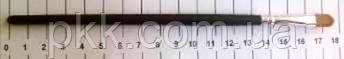 Кисть для век Q.P.I. PROFESSIONAL искуственная 18 см СВ 0674