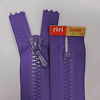 Тракторная неразъемная молния Riri 7 14-30 см, разные цвета Темно-фиолетовый, 300