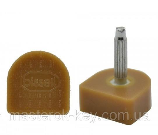 Набойки полиуретановые на штыре BISSELL 13х15мм штырь 2.9 мм бежевые 609