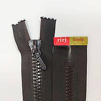 Тракторная неразъемная молния Riri 7 14-30 см, разные цвета Темно-коричневый, 250