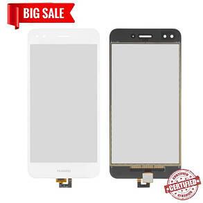 Сенсор (тачскрін) Huawei Nova Lite 2017 / P9 Lite Mini / Y6 Pro 2017 білий, фото 2