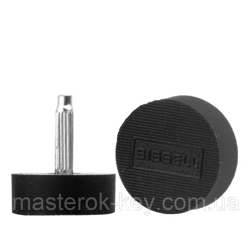 Набойки полиуретановые на штыре женские BISSELL (Италия), р. 603А (d20мм), толщина штыря 2.9 мм, цв. черный